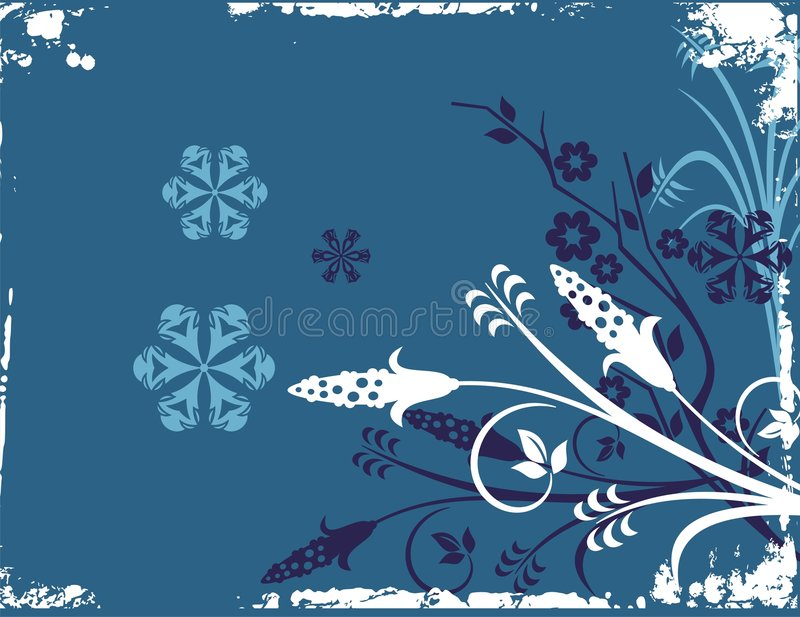 Download Frosty, Winter Background stock vector. Image of background - 1887886
