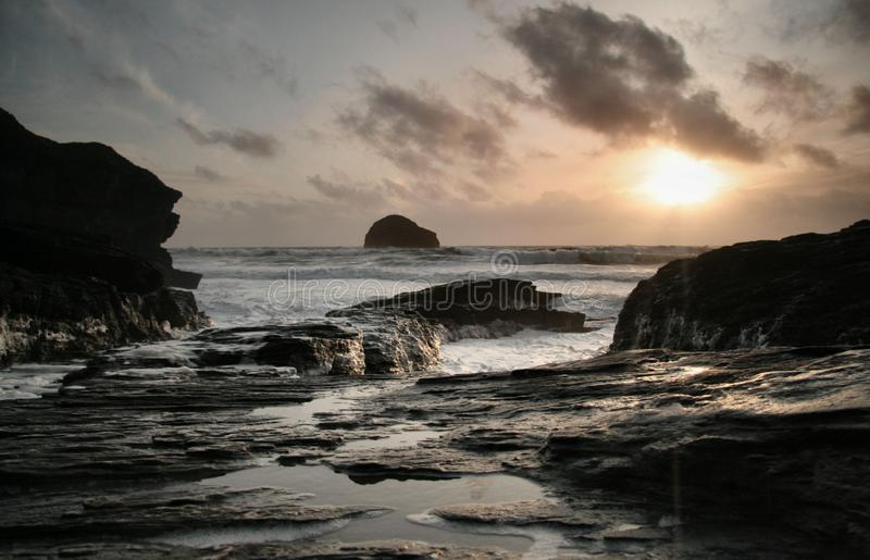 Download Frothy sunset stock image. Image of water, landscapes - 11299675