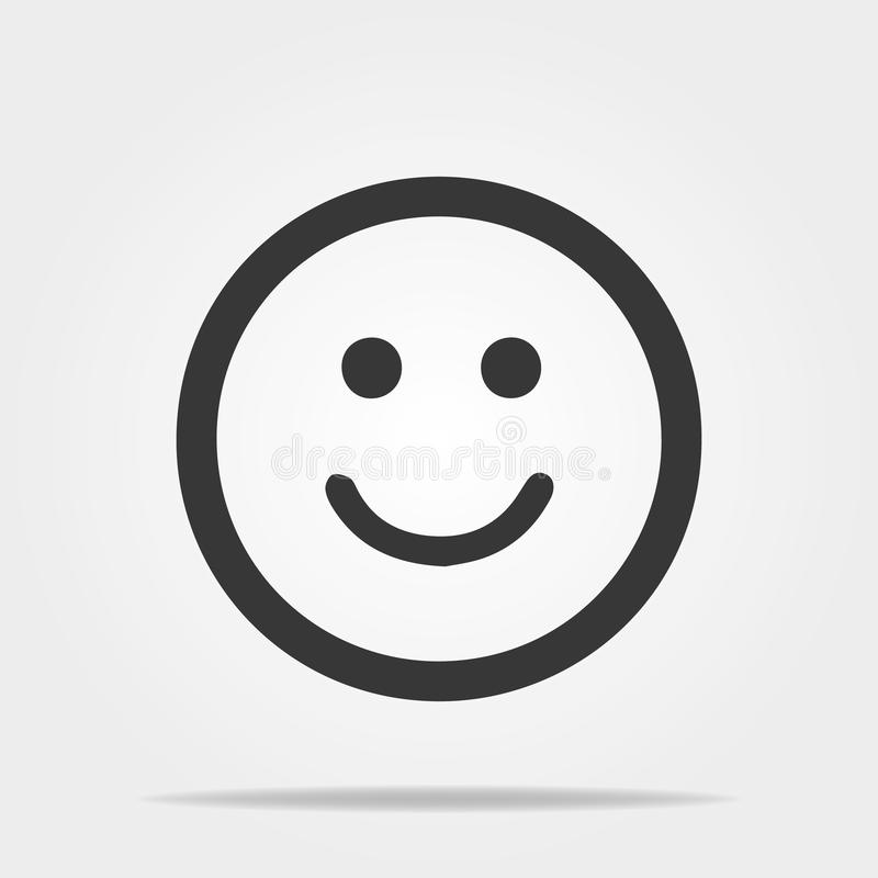 Frowning Face emoji line icon. Unhappy smiley linear style sign for mobile concept and web design. Sad face emoticon stock illustration