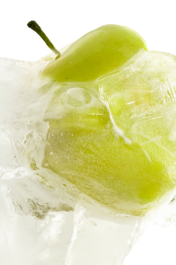 Download Frozen Apple Royalty Free Stock Image - Image: 3921566