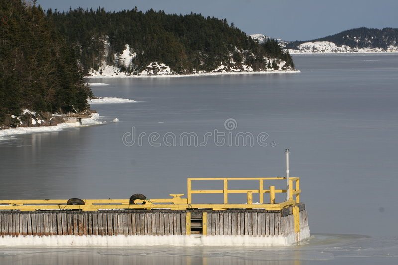 Download Frozen Bay stock photo. Image of winter, virgin, ocean - 7448806