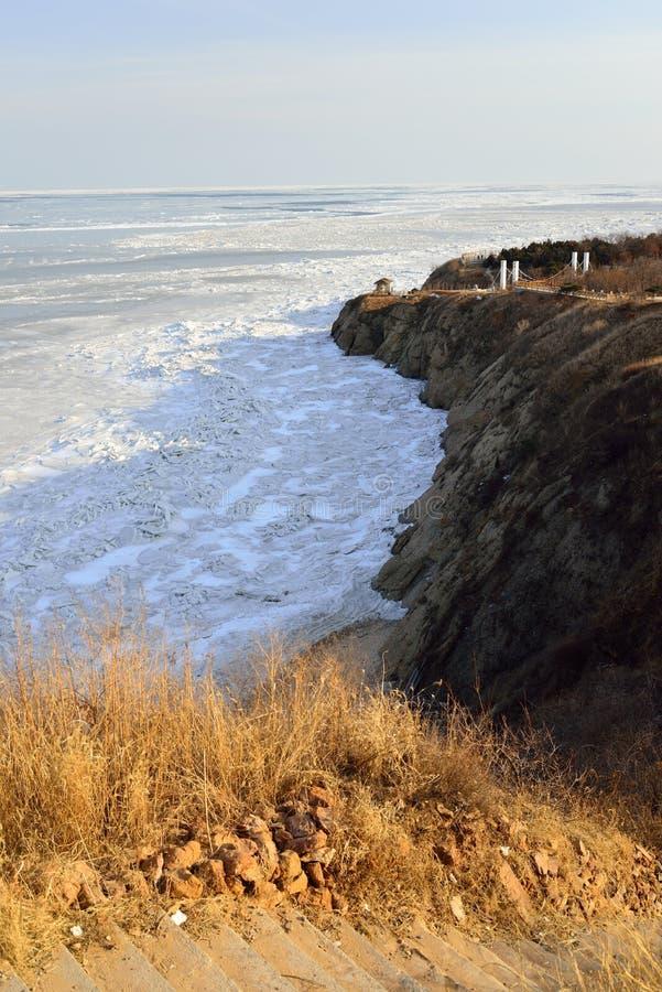 Pack Ice along China s Bohai Sea