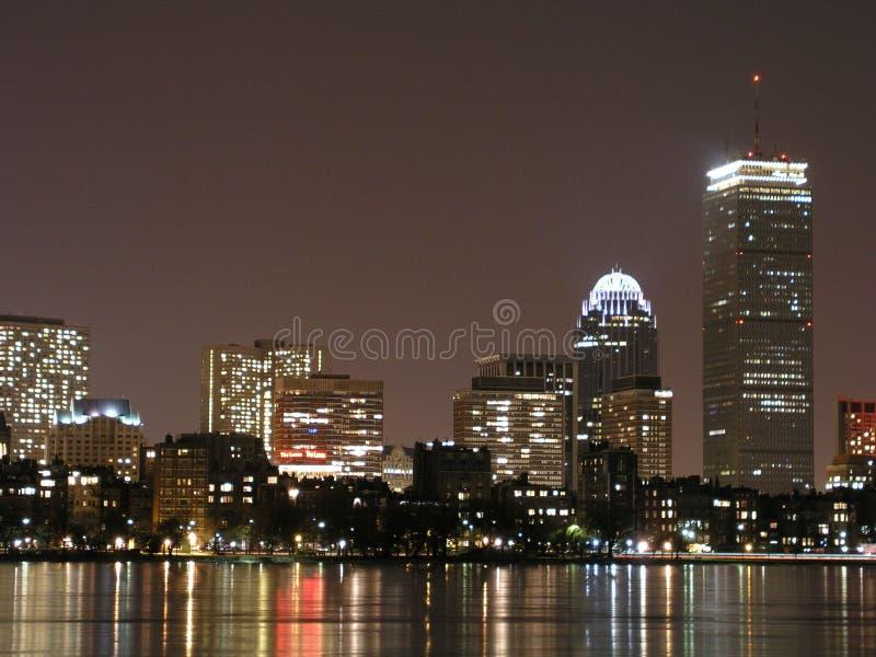 Frozen Boston royalty free stock images