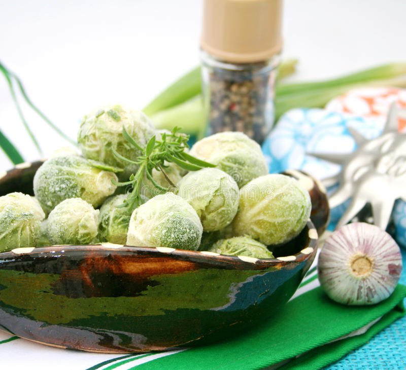 Download Frozen brussels stock photo. Image of cooking, preparing - 11484672