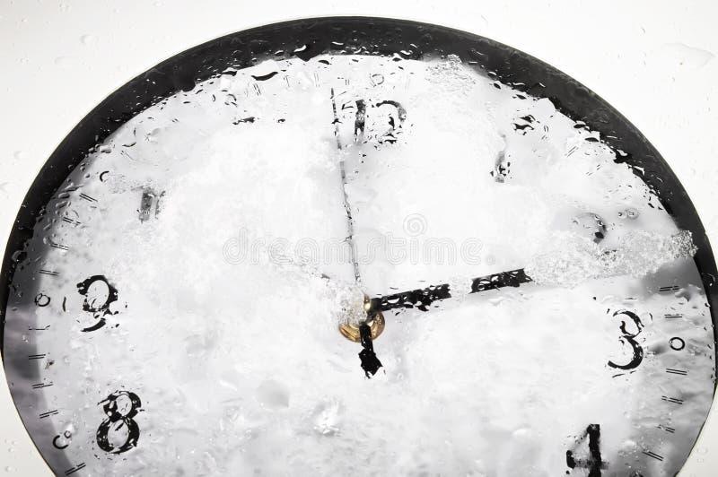 Frozen clock - RAW format stock images