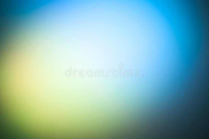 Frozen color light effect background stock image