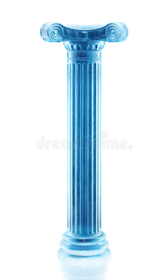 Download Frozen column sculpture stock illustration. Image of frozen - 18652731