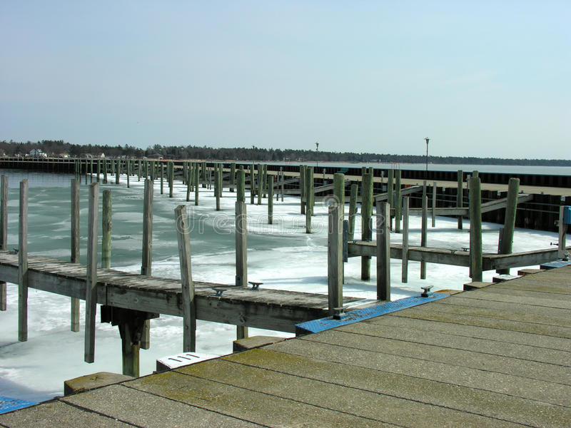 Download Frozen Docks Royalty Free Stock Images - Image: 13424989