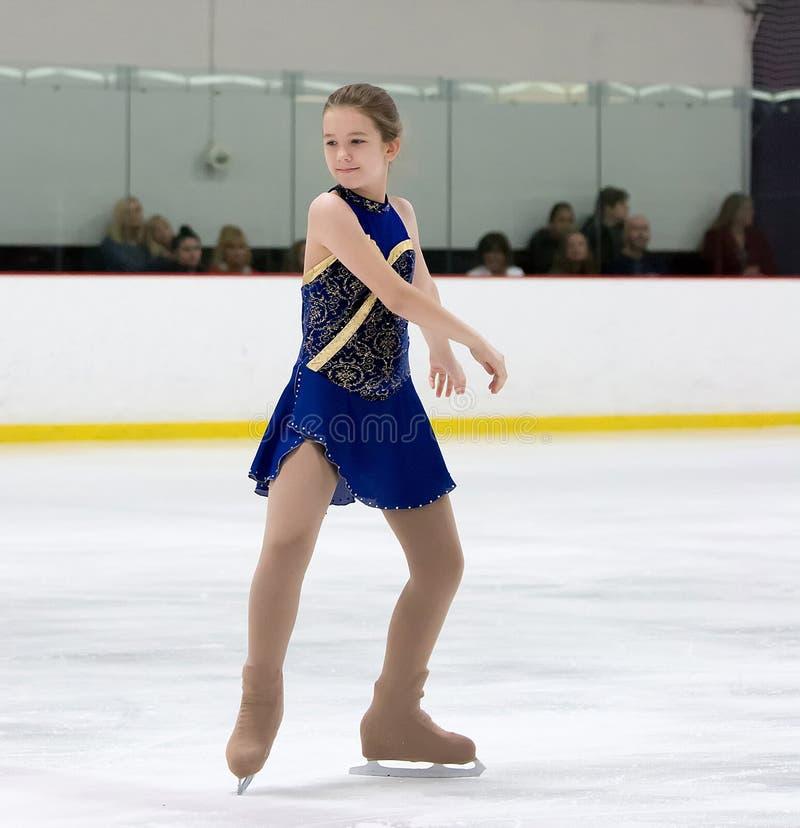 Figure Skater stock images