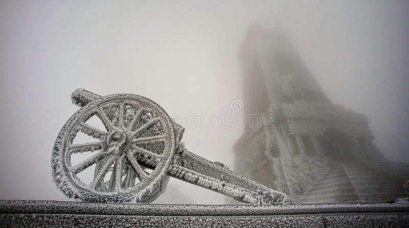 Download Frozen Gun Royalty Free Stock Photography - Image: 34126817