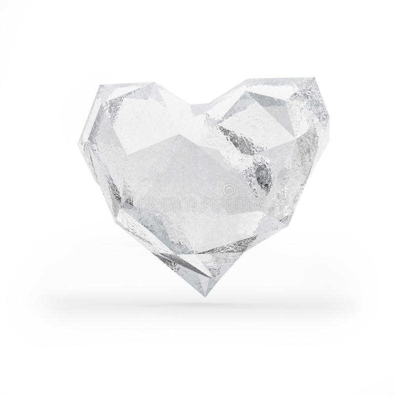 Download Frozen heart stock illustration. Image of blue, feeling - 27508144