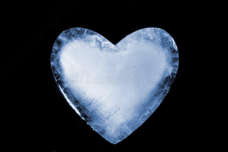 Download Frozen Heart stock image. Image of heart, blue, romance - 4010765