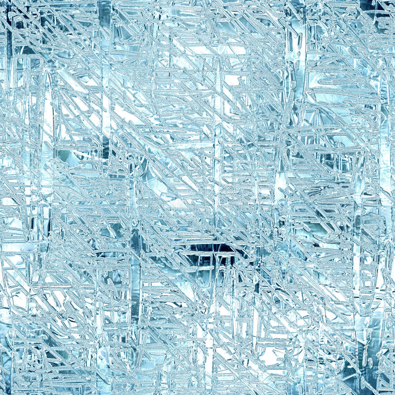 Frozen Ice Seamless And Tileable Background Texture Stock