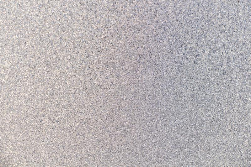 Frozen iced background. Ice pattern on the glass. Macro frost. Background royalty free stock photography