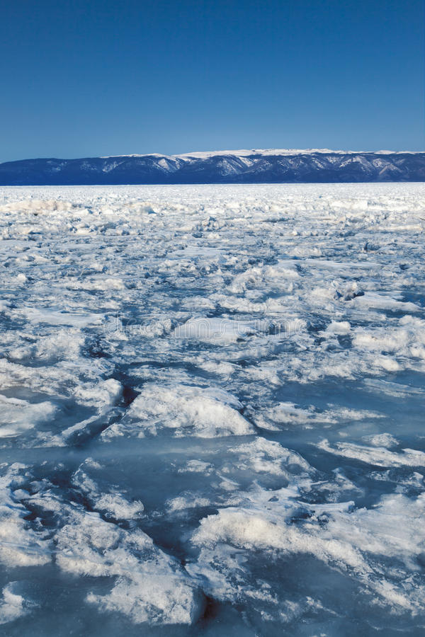 Download Frozen Lake Baikal. Winter. Stock Image - Image of snow, natural: 39511589