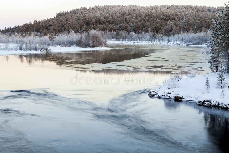 Download Frozen Lake In Inari, Finland Stock Photography - Image: 28913712