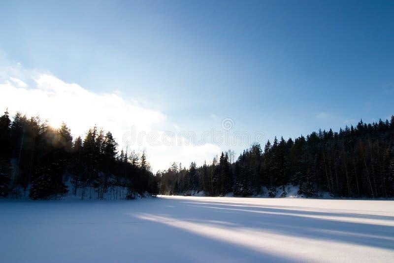Download Frozen Lake Landscape stock photo. Image of cold, landscape - 1960728