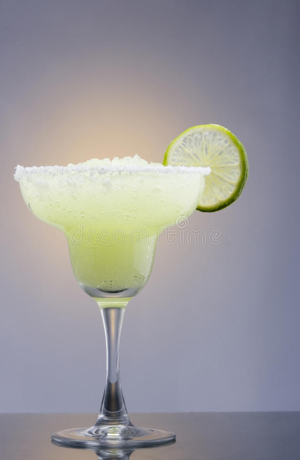 Frozen Margarita Cocktail Stock Image