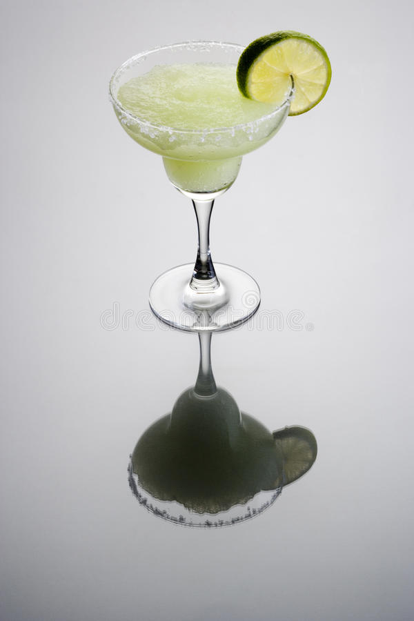 Frozen Margarita Cocktail stock photography