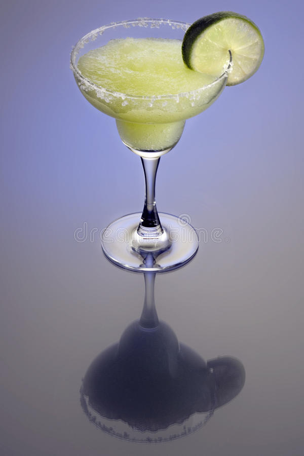 Frozen Marguerita Cocktail stock photography
