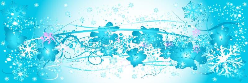 Download Frozen nature stock vector. Image of banner, border, ornament - 1500196