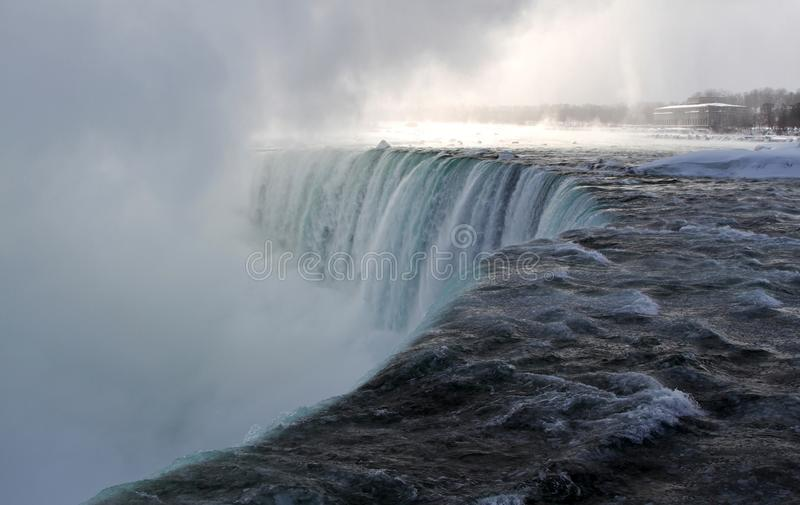 Frozen Niagara Falls In Winter Season Royalty Free Stock Images