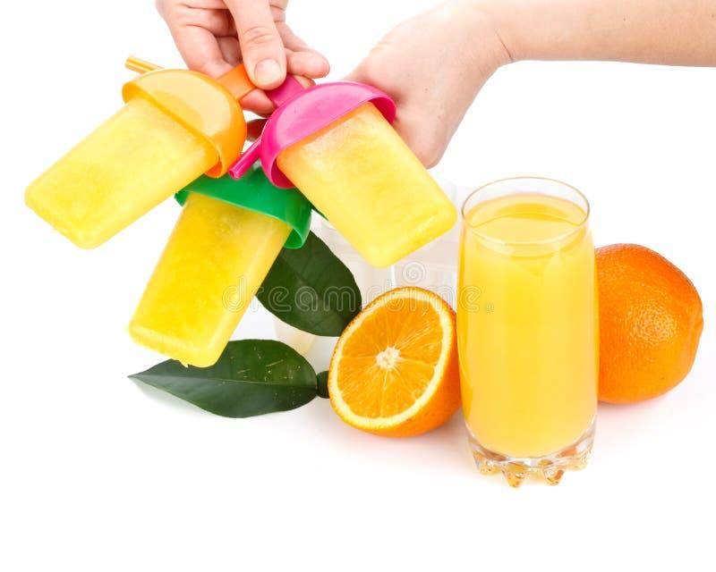 Frozen Orange Juice Royalty Free Stock Images