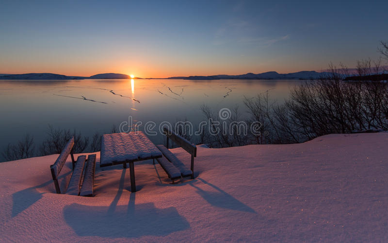 Frozen Peace royalty free stock photography