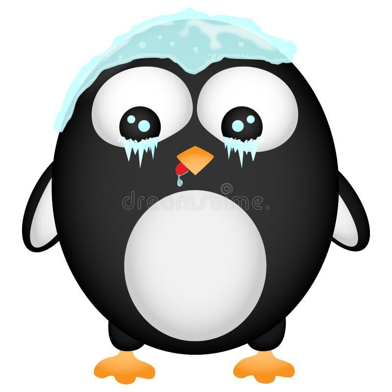 Frozen Penguin Royalty Free Stock Photos