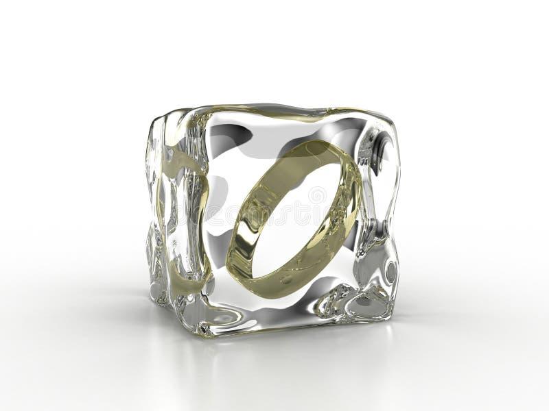 Download Frozen ring stock illustration. Illustration of close - 22950268