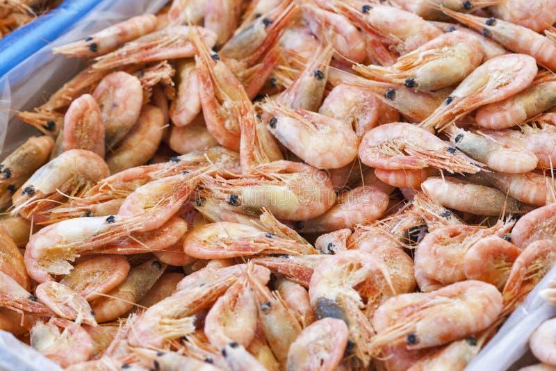 Download Frozen shrimps for sale stock image. Image of crustacean - 33924019