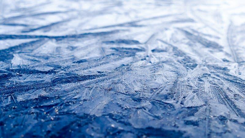 Frozen surface background stock photos
