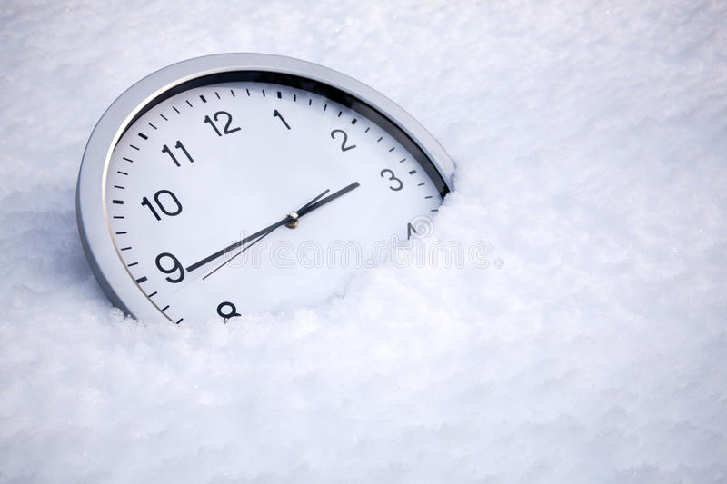 Frozen time royalty free stock images