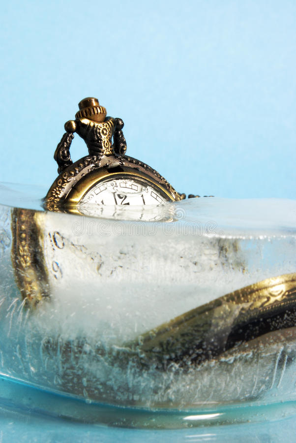 Frozen In Time stock image