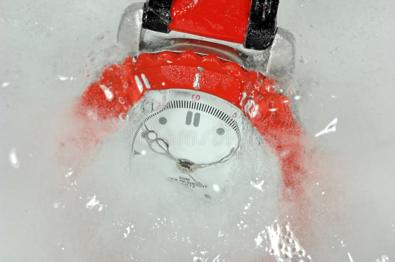 Download Frozen time piece stock image. Image of abstract, detail - 3771275