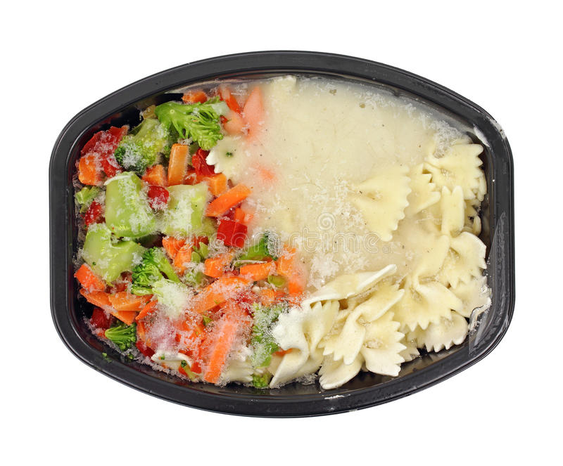 Download Frozen TV Dinner stock image. Image of lunch, broccoli - 19651469