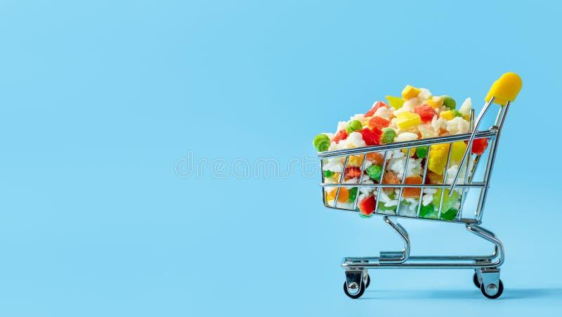 Banner Frozen Food - contoh desain spanduk