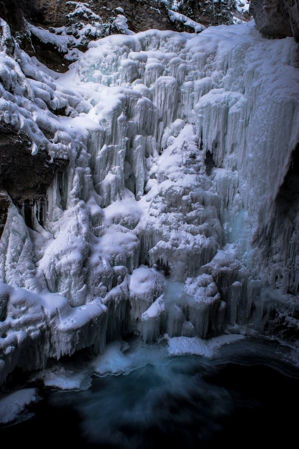 Frozen Waterfall royalty free stock photos