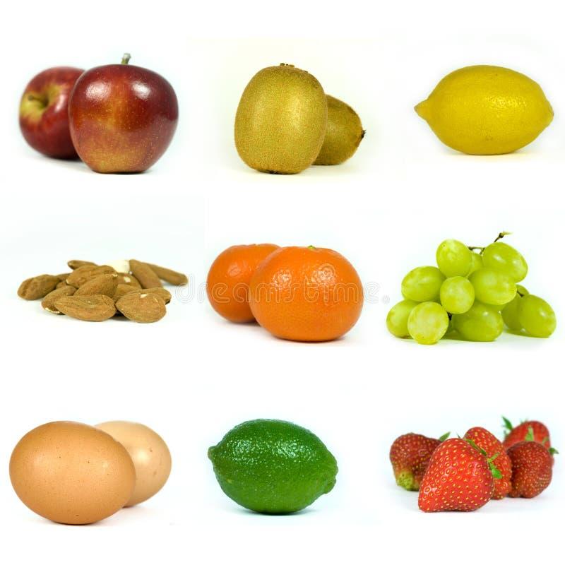 Frucht-Anwählungen lizenzfreie stockbilder