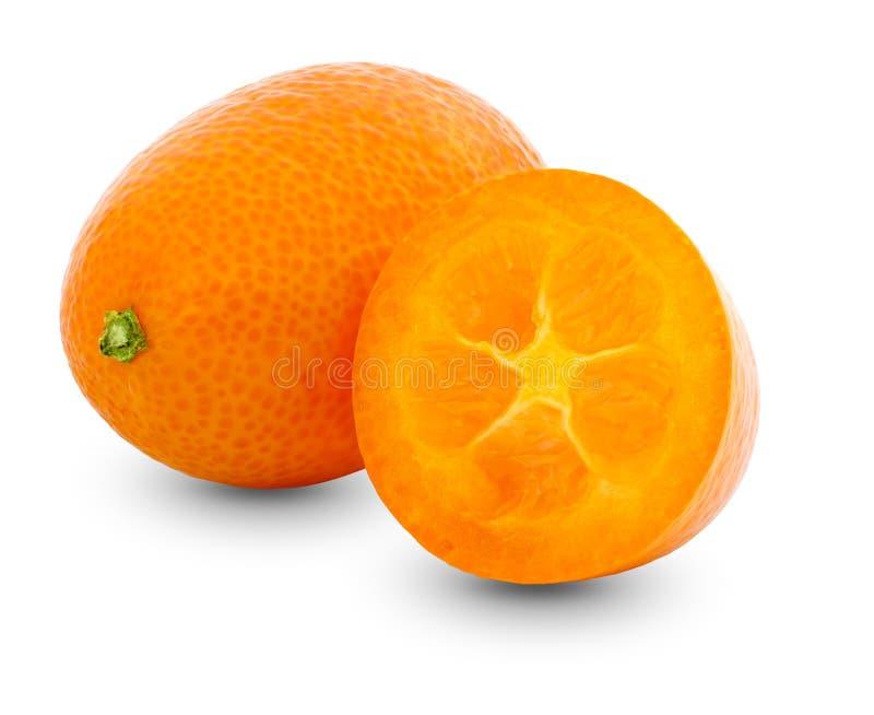 Frucht der japanischen Orange lizenzfreie stockfotos