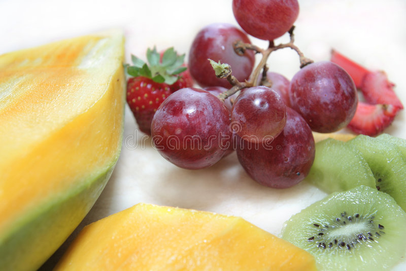 Frucht der roten Traube stockfotografie