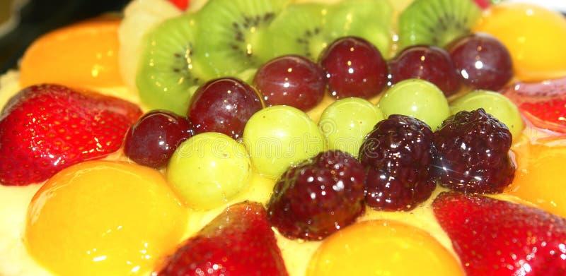 Frucht-Gebäck stockfoto