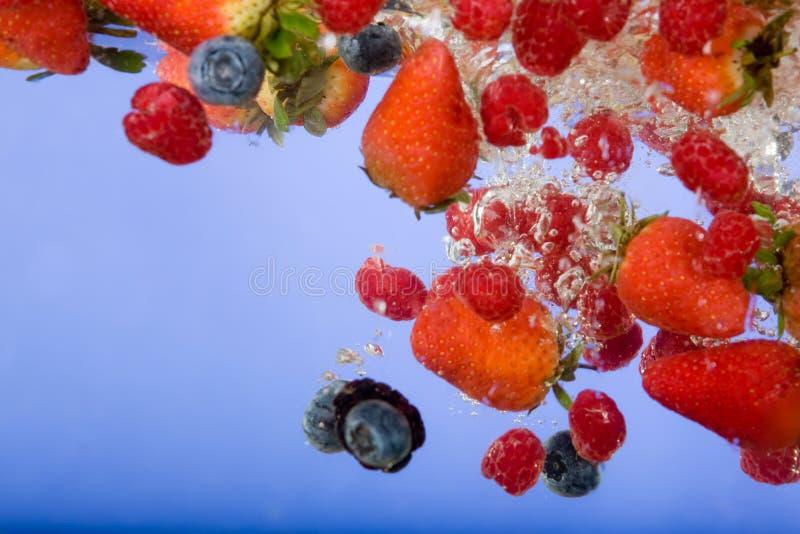 Frucht-Hintergrund stockbilder