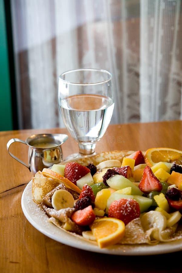 Frucht-Krepp stockfotos