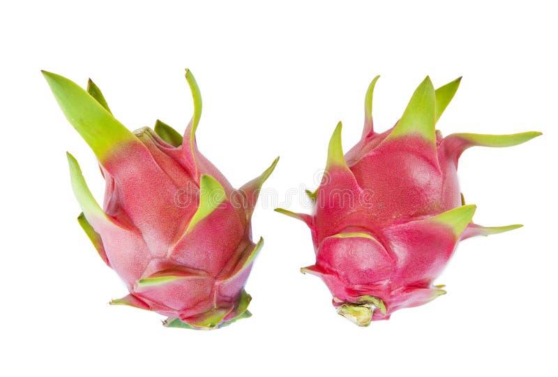 Frucht mit zwei Drachen lizenzfreies stockfoto