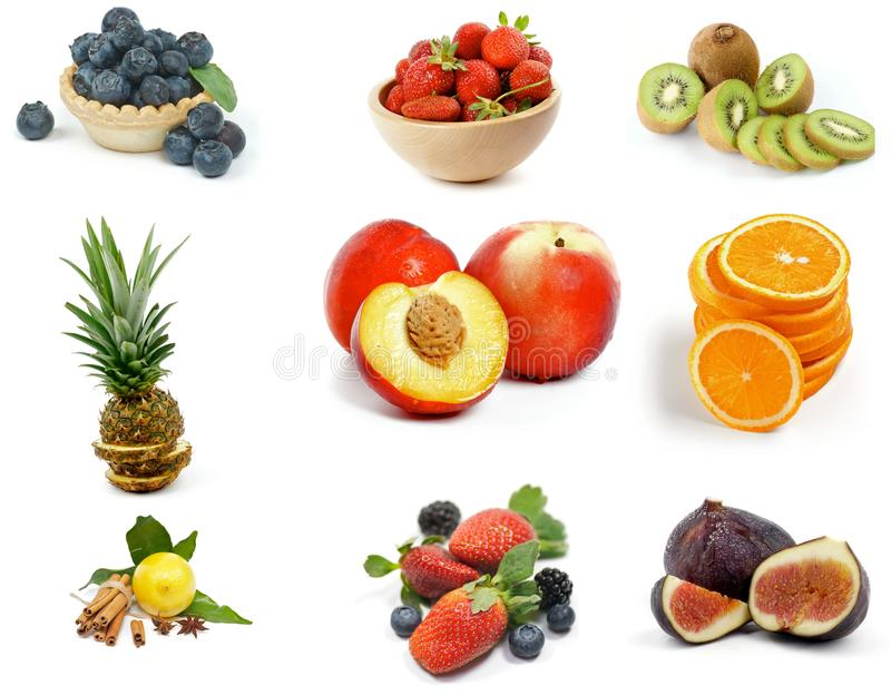 Frucht-Sammlung lizenzfreies stockfoto