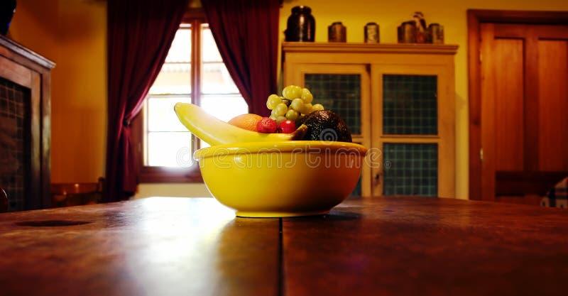 Frucht-Schüssel lizenzfreies stockfoto