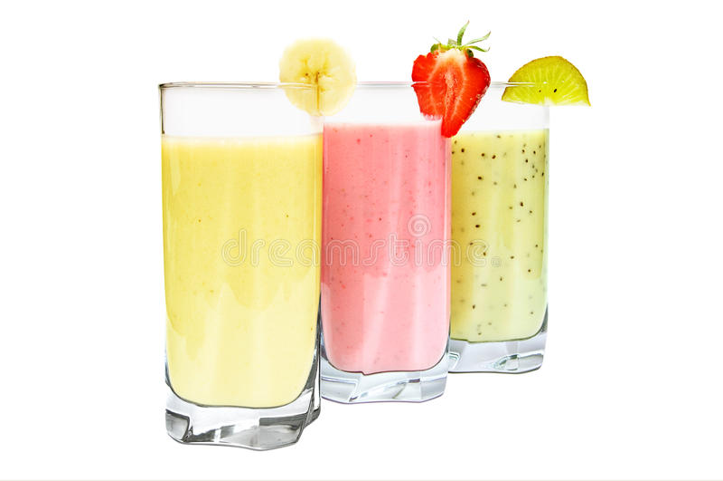 Frucht Smoothies stockbild