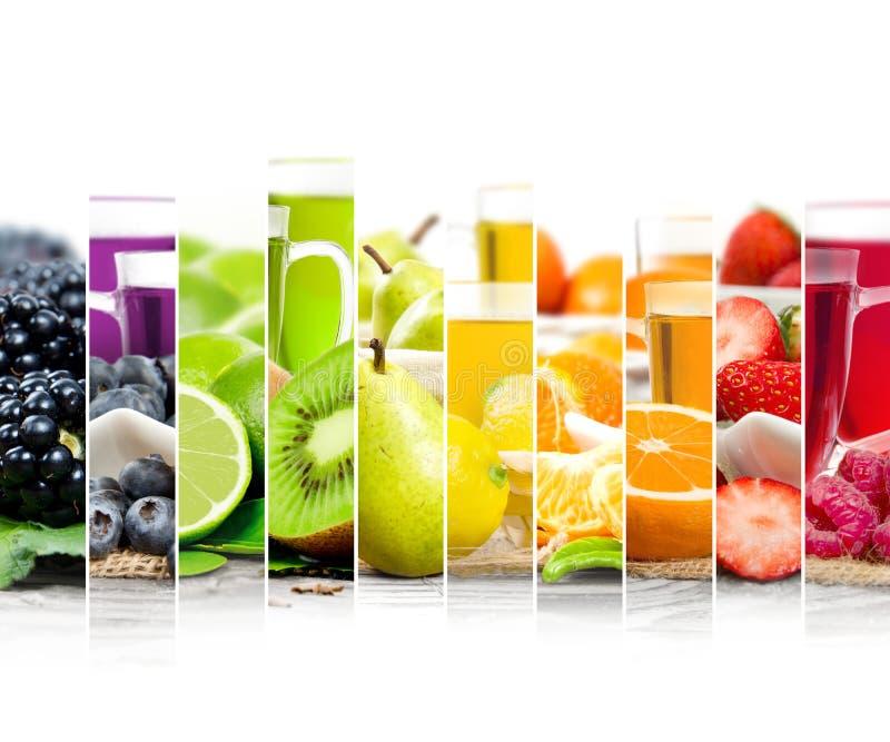 Frucht-Tee-Mischung lizenzfreie stockbilder