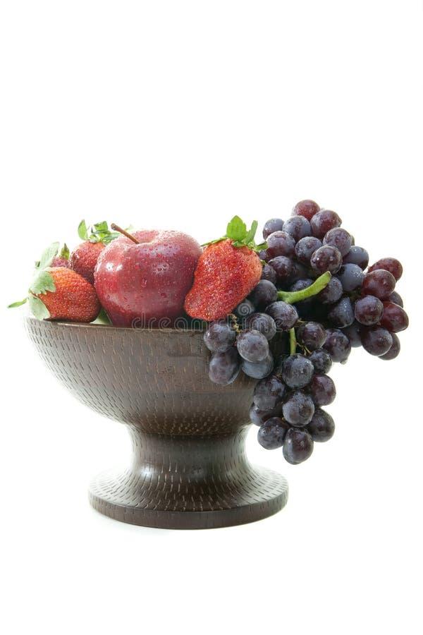 Frucht und Beeren lizenzfreie stockfotos